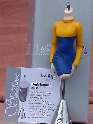 """The Latest Thing By Stacy Bayne """"high Impact""""  Boxed Manequin + Coa + Paperwork"""