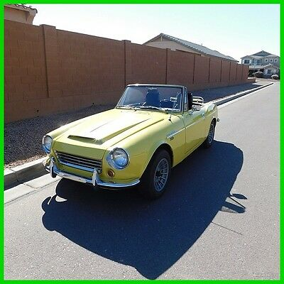 1968 Datsun Other  1968 Datsun 1600 Fairlady Roadster Used Manual Convertible