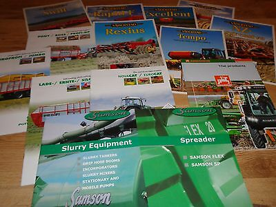 Farm Machinery Brochures Collection