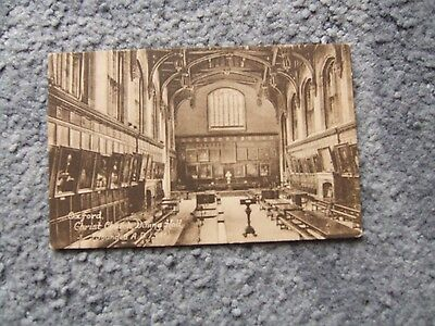 Oxford Christchurch Dining Hall original Frith postcard