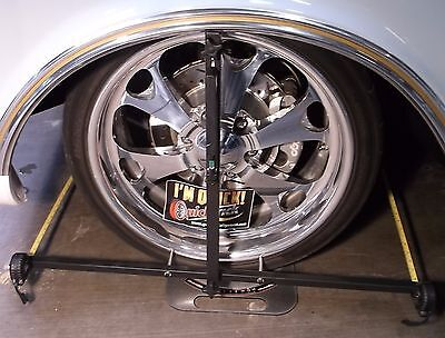 Digital Caster Camber Gauge with Toe Wheel Alignment Kit in Case