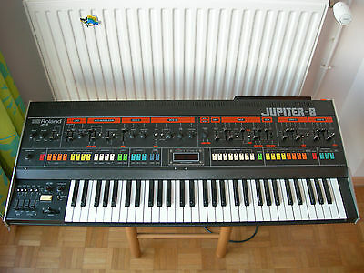 ROLAND Jupiter-8 JP-8 classic vintage polyphonic analog synthesizer with MIDI