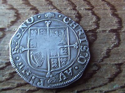 CHARLES 1st  1625-1649.  SILVER SHILLING.  1636-1638. RARE.   NICE CONDITION.