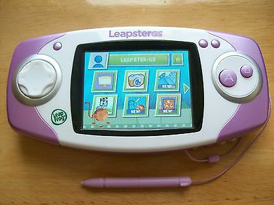 Leapfrog Leapster Gs Explorer Console Pink