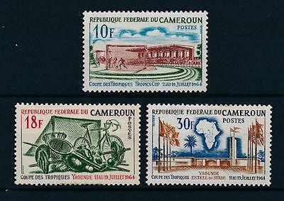 [43767] Cameroon 1964 Sports Soccer Football Bicycle Balls Flags MNH