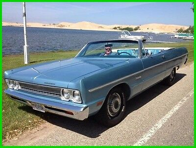 1969 Plymouth Fury  1969 Plymouth Fury III Convertible Automatic