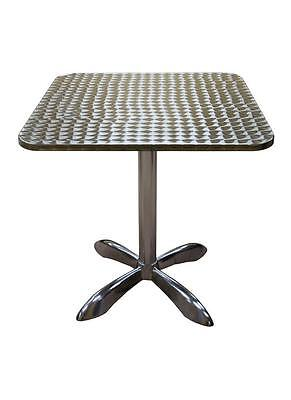 HOT NEW 32x32 ALUMINUM OUTDOOR PATIO RESTAURANT CURVED EDGE TABLE TOP FURNITURE