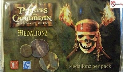 60 Packs x Pirates of the Caribbean Medalionz Wholesale Party Bag Lucky Fillers