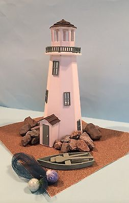 """Dolls house lighthouse kit 1/4"""" Scale 1/48th With 10 Piece Furniture Set."""