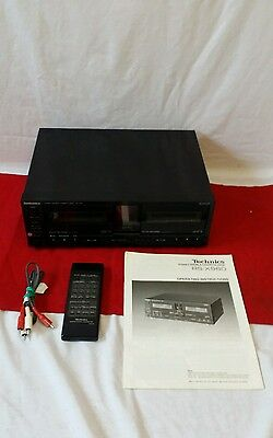 Vintage Technics RS-X980 Stereo HiFi Double Cassette Tape Deck Player Recorder
