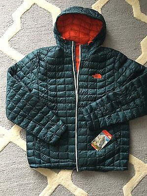 $220 The North Face Men's ThermoBall™ Hoodie Jacket L Conquer Blue Sale NWT