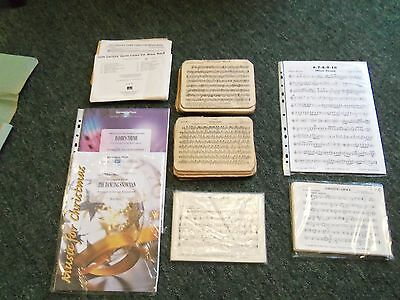 Job Lot Of 8 Sheet Music Scores For Brass Band