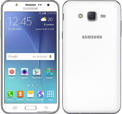 Sim Free Samsung Galaxy J5 5 Inch 13MP 8GB 4G Android Mobile Phone - White
