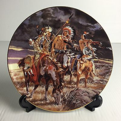 """""""With Boundless Vision""""  by Harry schaare FOOTSTEPS OF THE BRAVE Bradford Plate"""