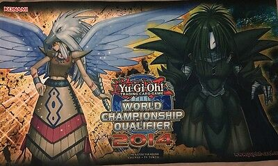 Yugioh Guardian Eatos Dreadscythe Playmat WCQ 2014
