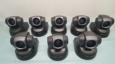 Lot Of 9 Sony Evi-D100 Color Video Conference Surveillance Cameras