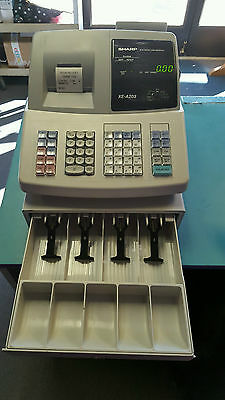 Sharp XE-A203 Thermal Printing High Contrast Cash Register