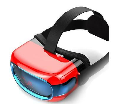 Casque virtuel-All-in-one 720P HD VR Glasses RED
