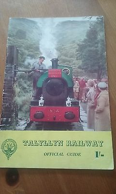 Talyllyn Railway Official Guide Book original 1950s or 60s. Rare and Collectable