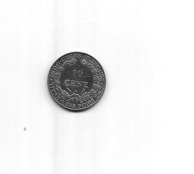 Indochine   Indochina   10 Cent.  1901 A   Silver