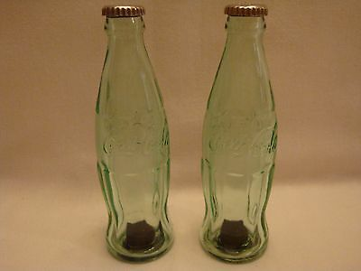 Set of Coca Cola Pop Bottle Salt and Pepper Shakers (Official Licensed Product)