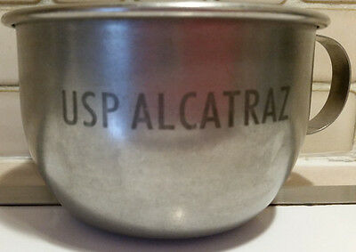 Inmate Cup - United States Prison Alcatraz- Stainless Steel