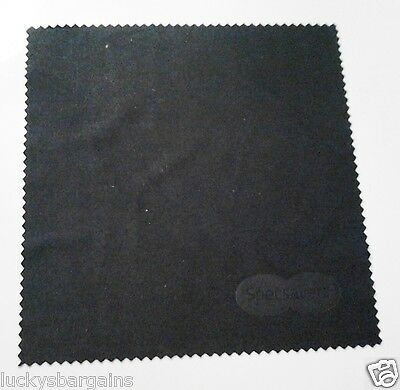 Black Specsavers Glasses Cloth Wipe.[15cmx15cm]FAST,FREE POST!