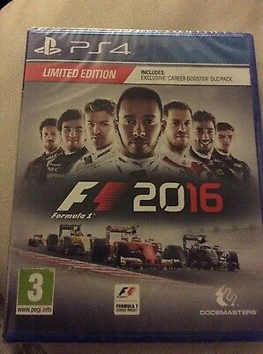 PS4. .. F1 2016...new sealed ...rrp 55.99