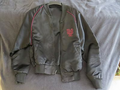 B2 Bomber Combined Test Force Satin Jacket