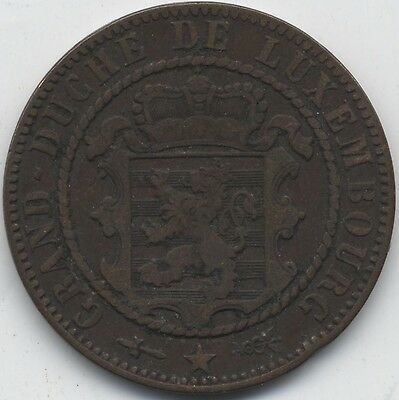 1854 Luxembourg 10 Centimes***Collectors***