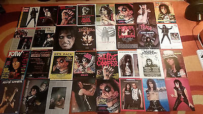Alice Cooper 361 RARE - Clippings, clips, advert, ads, posters, articles, pinups