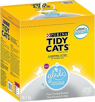 Purina Tidy Cats with Glade Clumping Cat Litter, 18.1kg Box