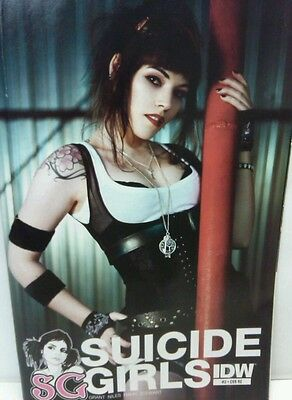 Suicide Girls #3 Photo Variant RE Cover IDW Comic Book