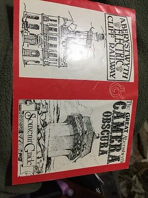 Souvenir Guide Aberystwyth Electric Cliff Railway and Camera Obscura
