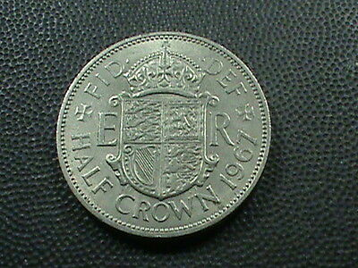 GREAT  BRITAIN    1/2  Crown    1967