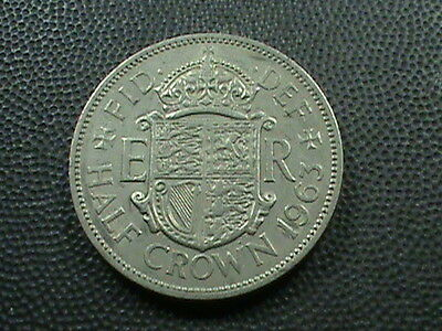 GREAT  BRITAIN    1/2  Crown    1963