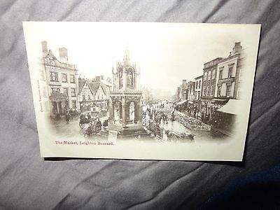 Leighton Buzzard. THE MARKET  CHESTER VAUGHAN SERIES C1910 CATTLE PEOPLE