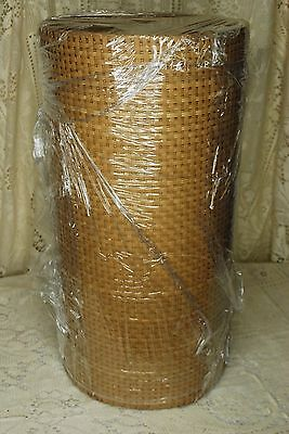 "Chair Cane Web Material - Medium Radio Weave Pattern - 19"" x 90' (Approx.)"