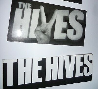 The HIVES band lot of 2 STICKERS indie rock, 2 versions, music FREE SHIPPING