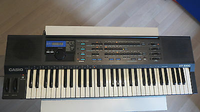 Casio Ht-3000 ____ Analog Filter Synthesizer + Rz-1 Drum Sounds