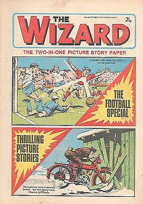 The Wizard 86 (October 2, 1971) very high grade copy - Bobby Moore colour pinup