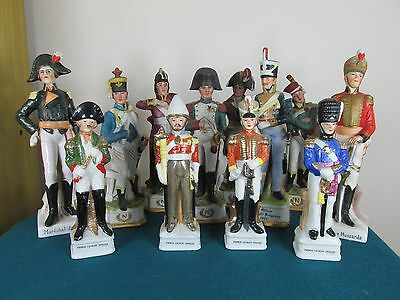 Collection Of Ceramic Military Napoleonic Figures