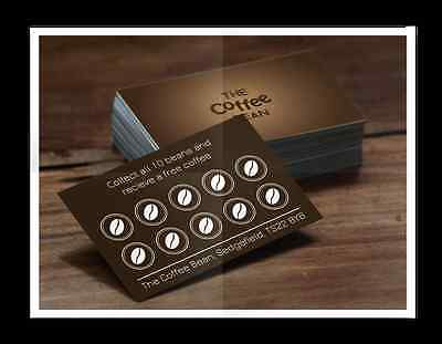2500 Customised Loyalty Cards