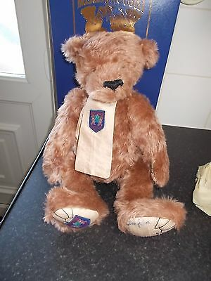 """Merrythought Club Teddy Bear Exclusive 16""""  Rose Mohair Boxed"""