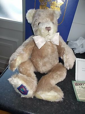 """Merrythought Club Teddy Bear Exclusive 15""""  Chatsworth Boxed"""