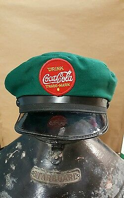 100th ANNIVERSARY COCA COLA DELIVERY MAN'S CAP OFFICIAL  LICENSED PRODUCT