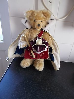Hermann Queen Elizabethh Ii Coronation 1953-2003 Teddy No.278