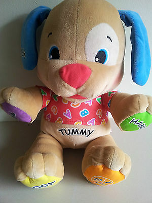 Fisher Price Learn and Play Talking Puppy
