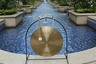 22''/55CM MK WIND GONG & WOODEN MALLET Beautiful GONG and CRAFT