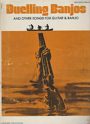 DUELLING BANJOS and Other Songs for Guitar & Banjo - 12 Song / Sheet Music Book
